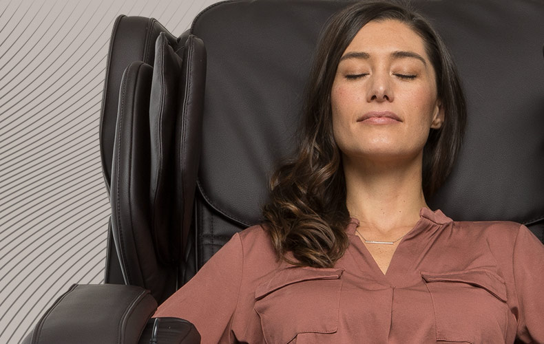 luxury in-home massage chair used to relax the mind and body