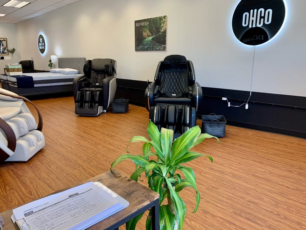 Fort Lee NJ OHCO Massage Chairs and Mattresses